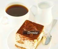 Cake tiramisu Stock Image
