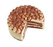Cake tiramisu isolated Royalty Free Stock Images