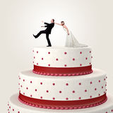 Cake topper Royalty Free Stock Images