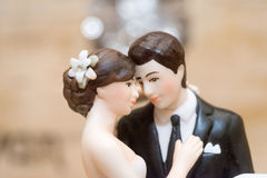 Cake Topper Royalty-vrije Stock Fotografie
