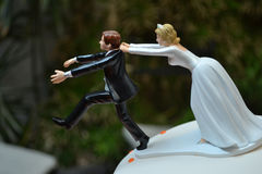 Cake topper Royalty Free Stock Photography