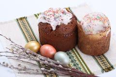 cake traditionella easter Royaltyfria Foton