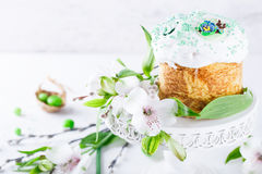 cake traditionella easter Royaltyfri Fotografi
