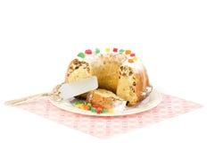 Cake truffle Stock Photo