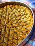 Cake of turkey Stock Image