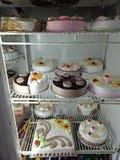 Cake; Type van Schotel royalty-vrije stock fotografie