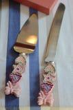 Cake utensils Royalty Free Stock Images