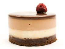 Cake van chocolade Stock Afbeeldingen
