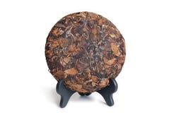 Cake van de Puerh de Ruwe thee Royalty-vrije Stock Afbeeldingen