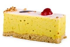 Cake van een soufflé met glans Royalty-vrije Stock Foto