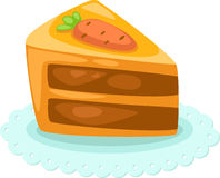 Cake vector Stock Images