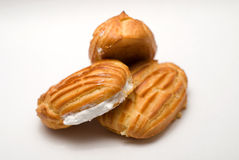 Cake Viennese wafers Stock Image