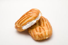 Cake Viennese wafers Royalty Free Stock Photography