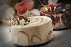 Cake voor een gift Stock Afbeeldingen