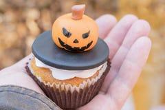 Cake voor Halloween stock fotografie