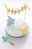 Cake voor Pasen Stock Afbeelding