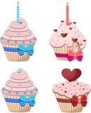 Cake-voor-zijn-verjaardag Royalty-vrije Stock Afbeelding