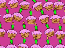 Cake wallpaper Royalty Free Stock Photos