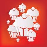 Cake web icon Royalty Free Stock Photography
