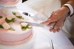 cake wedding Στοκ φωτογραφίες με δικαίωμα ελεύθερης χρήσης