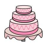 cake wedding dessert image Royalty Free Stock Images