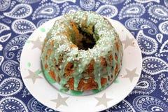 Cake of wheat flour Stock Image