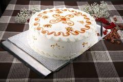 Cake white Royalty Free Stock Photos