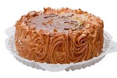 Cake on white Stock Photos