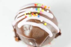 Cake. On a white background Stock Image