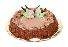 Cake on white background Royalty Free Stock Images