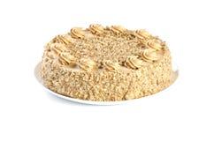 Cake isolated on white background royalty free stock photography