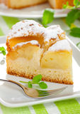 Cake With Apple Royalty Free Stock Photography