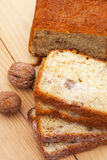 Cake With Nuts Royalty Free Stock Photos