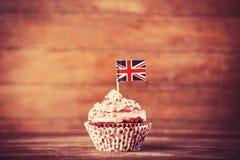 Free Cake With UK Flag. Stock Image - 35576611