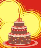 Cake - 40 year Stock Images