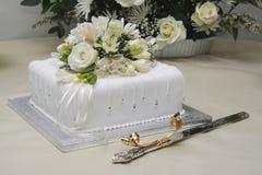 cakebröllop Royaltyfri Bild