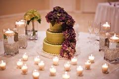 cakebröllop Royaltyfria Bilder