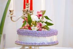 cakebröllop Arkivbilder