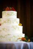cakebröllop Arkivfoton