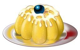 cakeCherry vektor illustrationer