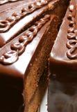 cakechocolade royaltyfria bilder
