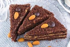 cakechoklad Royaltyfri Foto