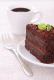cakechoklad Arkivbilder