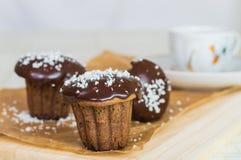 cakechoklad tre Royaltyfri Foto