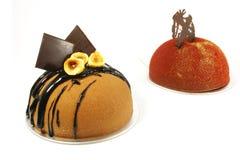 cakechokladinfall royaltyfri bild