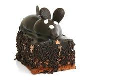 cakecloseupmus Royaltyfri Fotografi