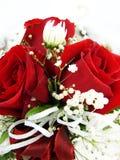 cakeclosupbröllop Royaltyfri Fotografi