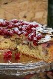 cakecranberries Arkivbilder