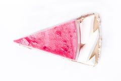 cakecranberrymousse Arkivfoto