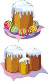cakeeaster ägg Arkivfoto